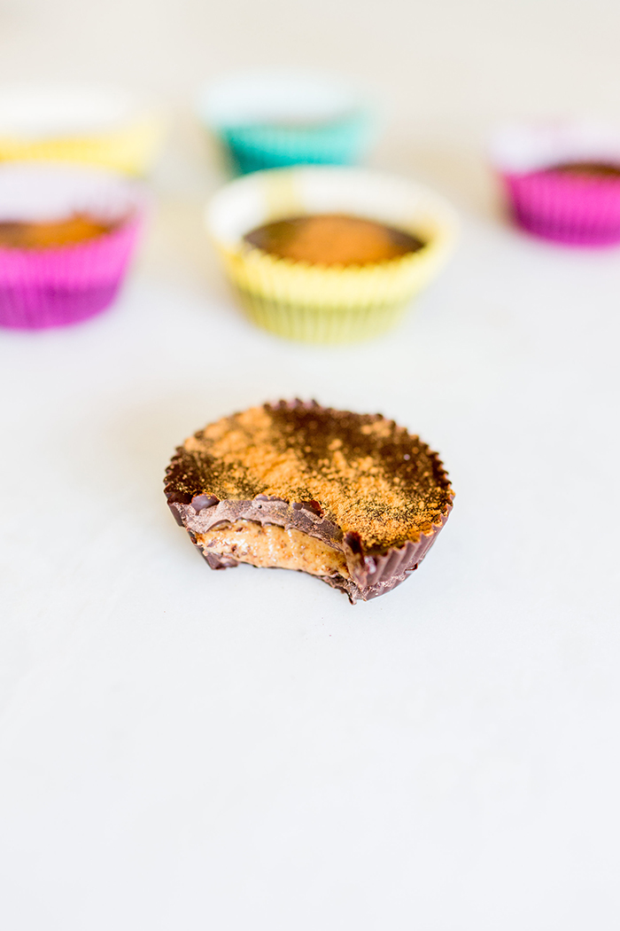 Healthier alternative to peanut butter cups: Almond Butter Cups
