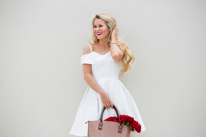Chic of the Week: Olivia's Little White Dress