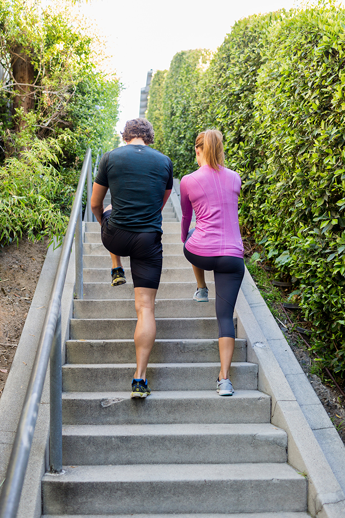 Try our stairway to heaven stair workout