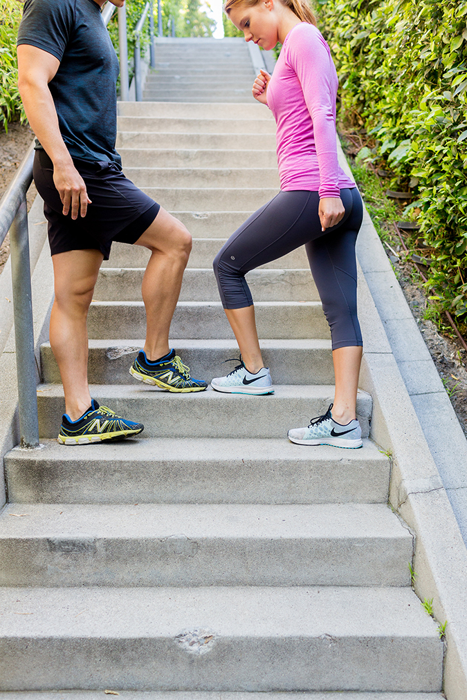 Sidestepping up that stair workout with Dr. Hunter Vincent
