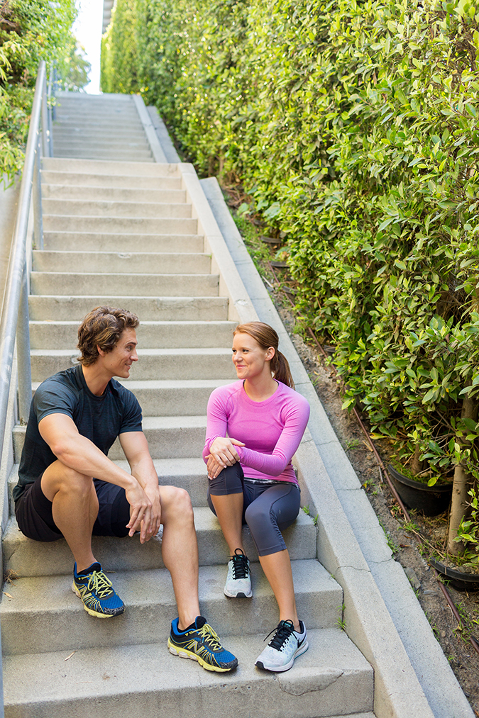 Learn how to step up your stair workout with our trainer, Dr. Hunter VIncent