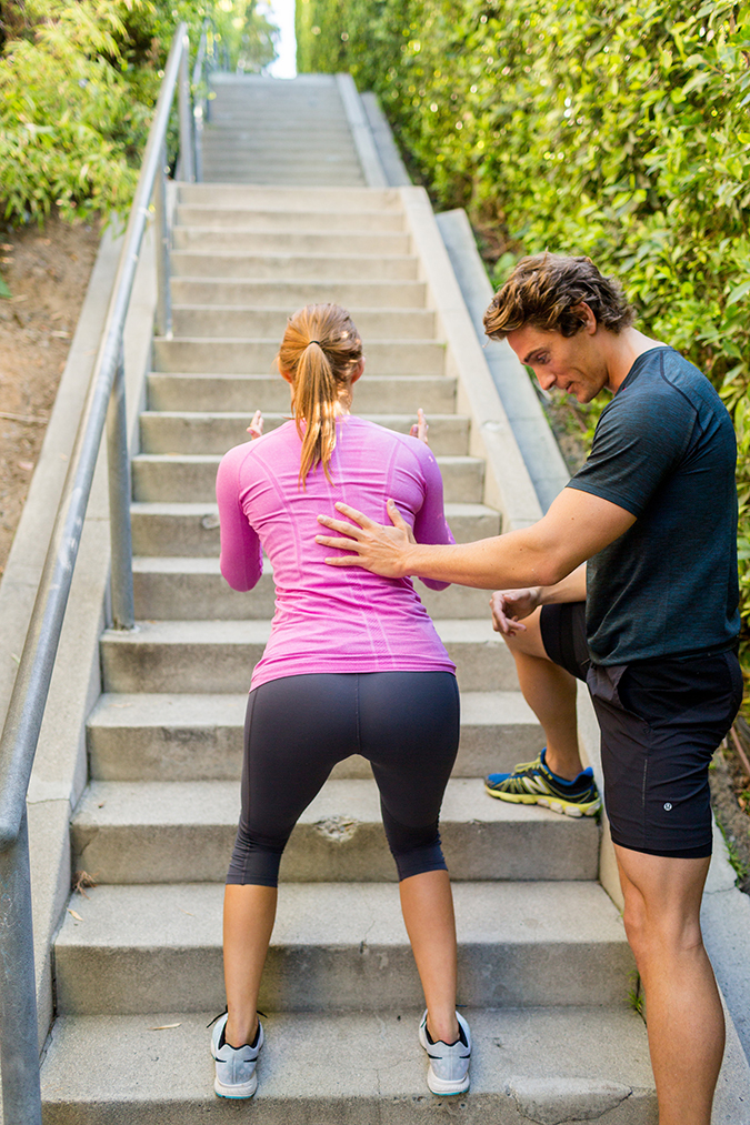 Try this stairway to heaven stairs workout