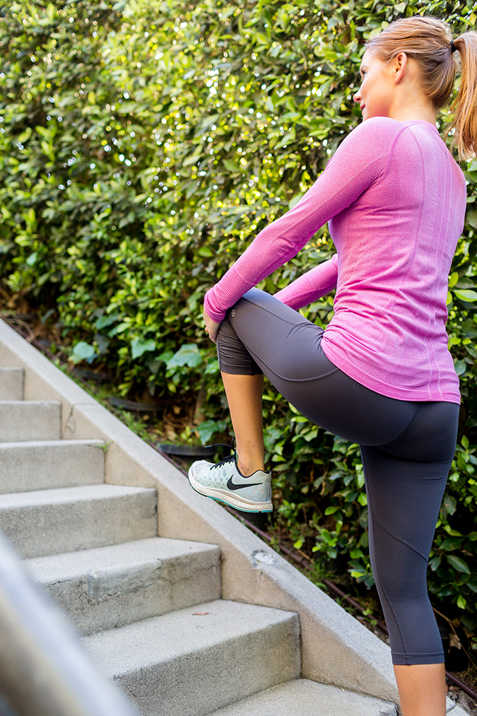 Step up your stairs workout