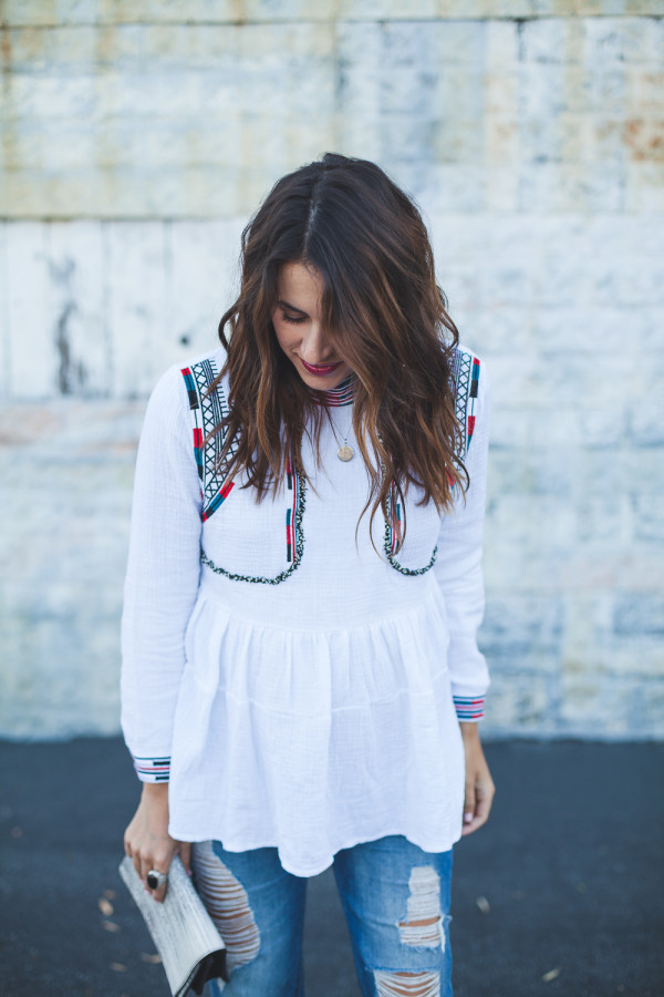Chic of the Week: Natalie's Embroidered Ensemble