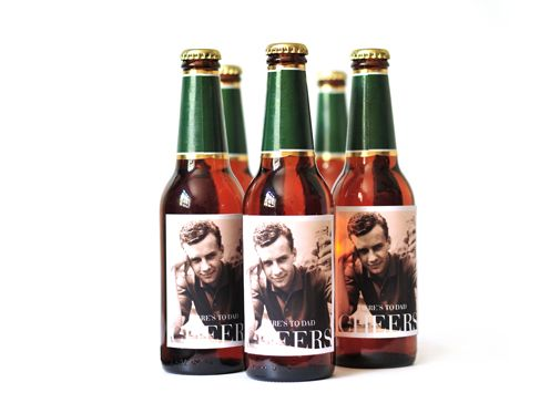 Custom beer labels - part of Team LC's Father's Day gift guide on the blog