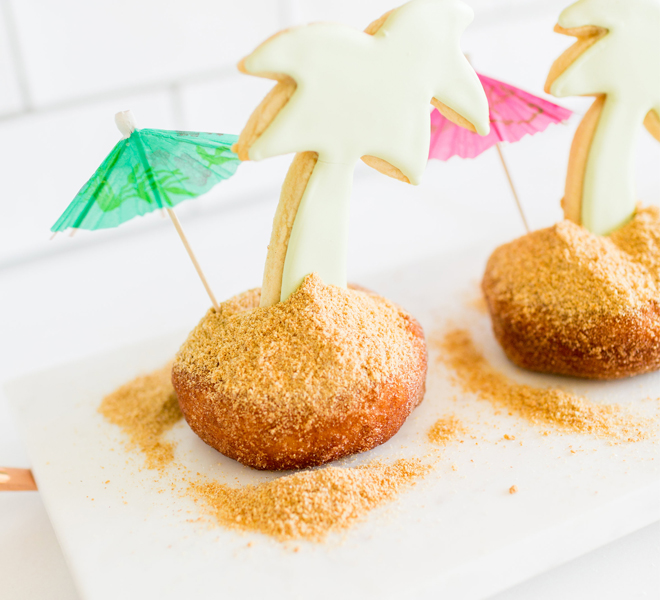 Edible Obsession: Palm Tree Beach Donuts