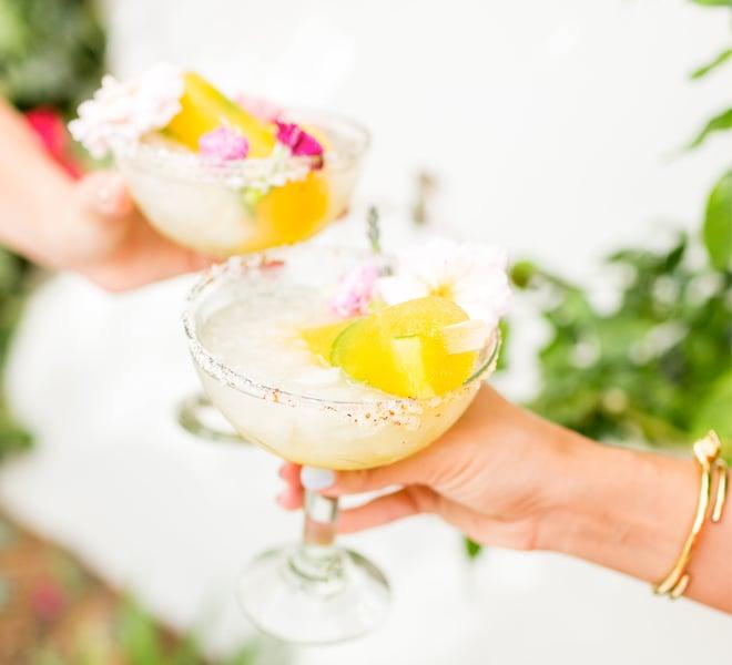 Lovely Libations: Spicy Mango Margarita Poptails