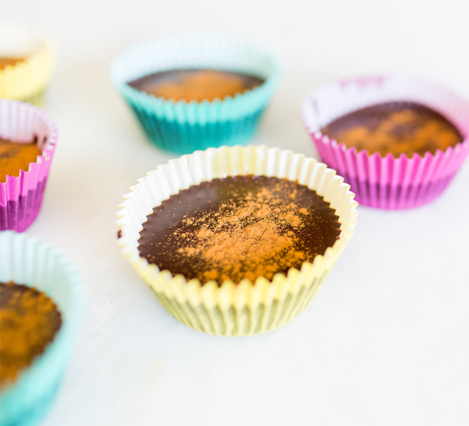 Edible Obsession: Homemade Cinnamon Almond Butter Cups