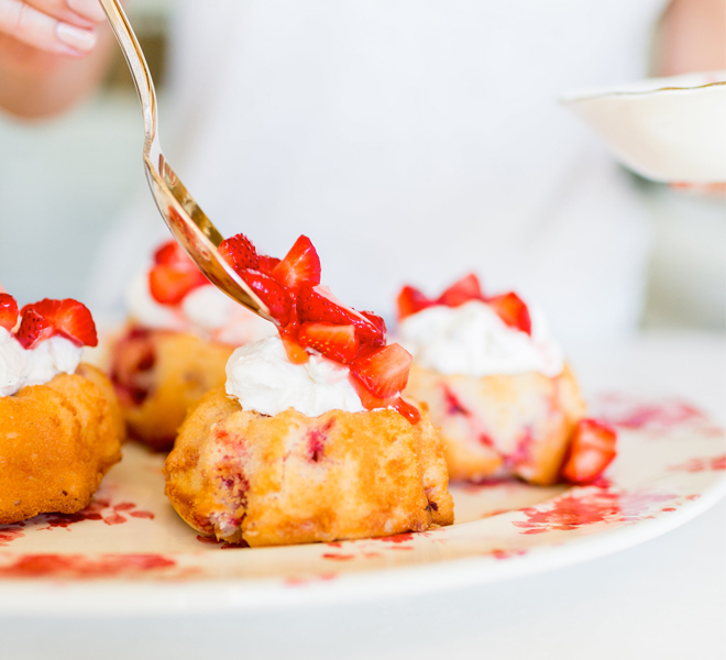 Edible Obsession: Mini Strawberry Shortcakes