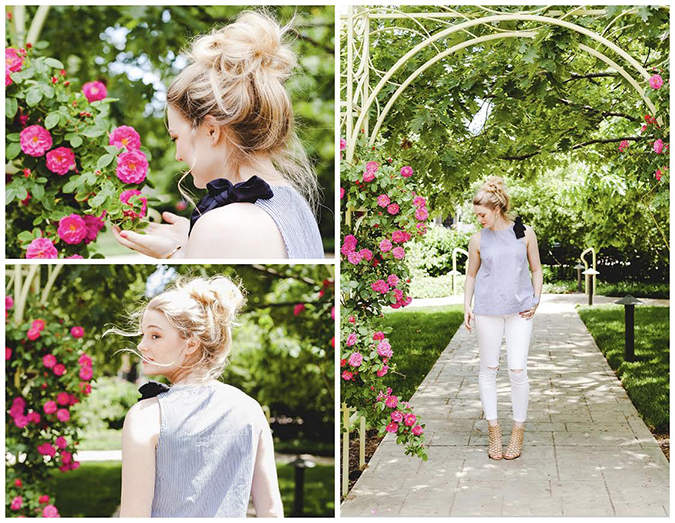 Whispy garden bun via Beauty for Bloggers