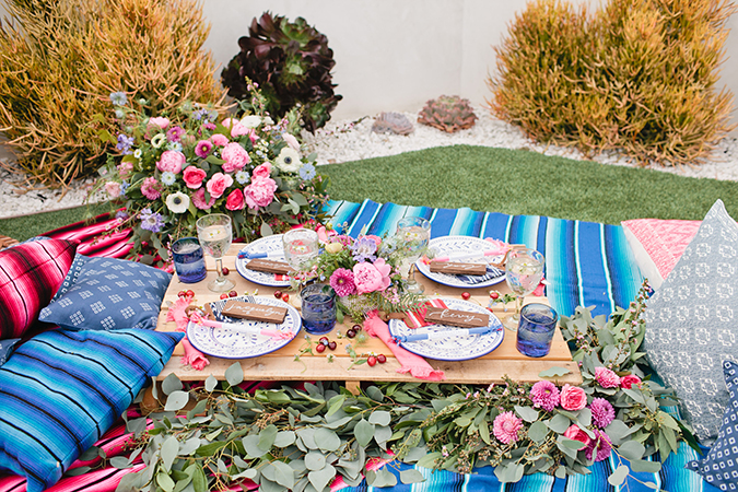 See this pink, white, and blue party for the Fourth of July
