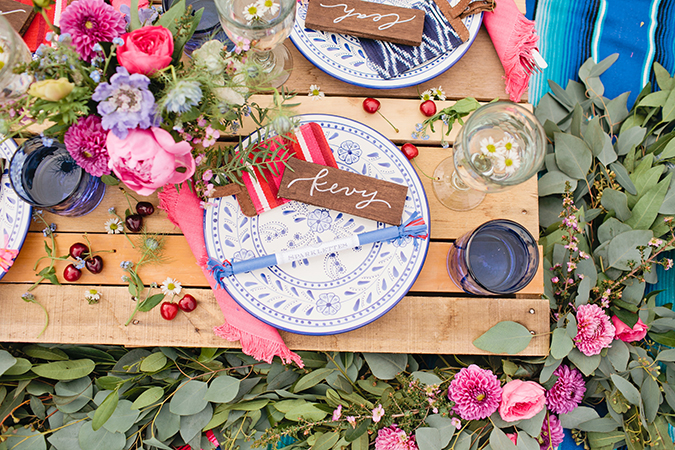 Pink, white, and blue is the new Fourth of July party theme