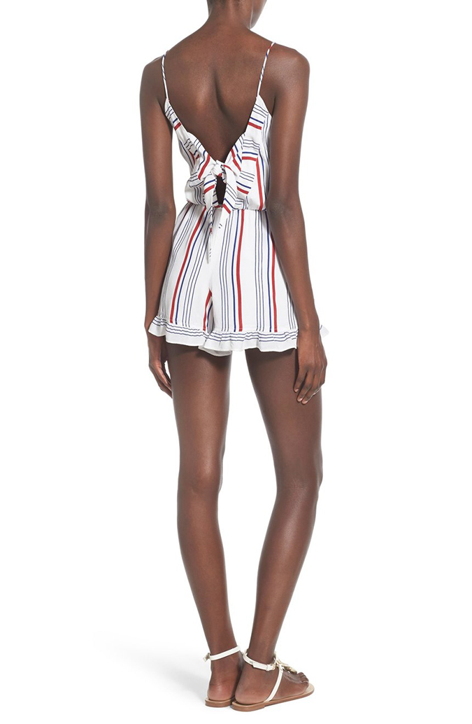 Get this cute patriotic romper, part of Lauren's friday favorites on the blog