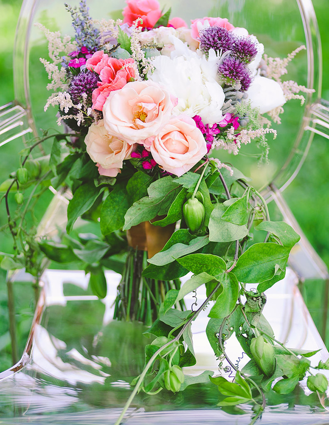 Pretty styled shoot from Silver Lining Events + Co