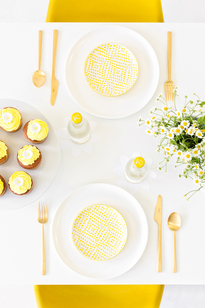 Daisy party, perfect for a summer shindig