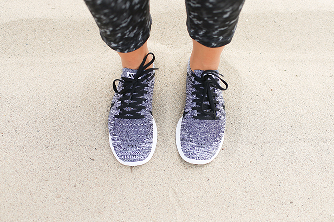 Nike Free Flyknit running shoes