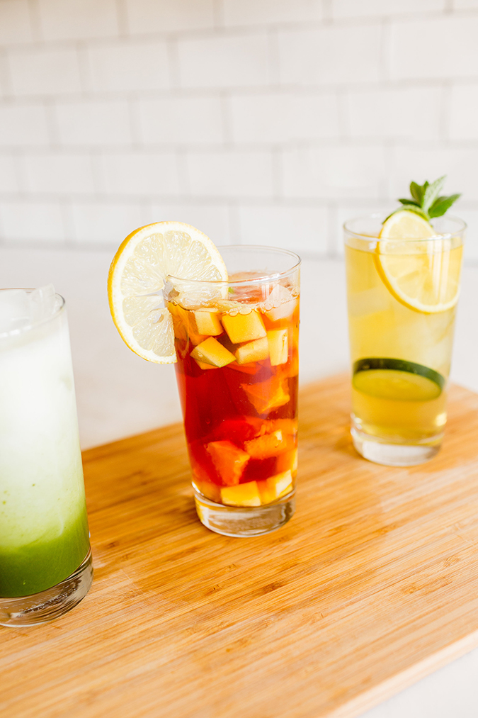 summery iced teas