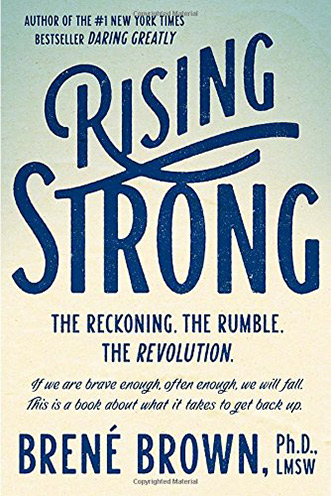 Summer Reading List: Rising Strong by Brene Brown