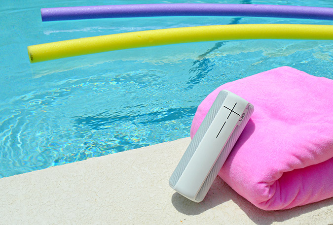 summer essentials: waterproof speakers