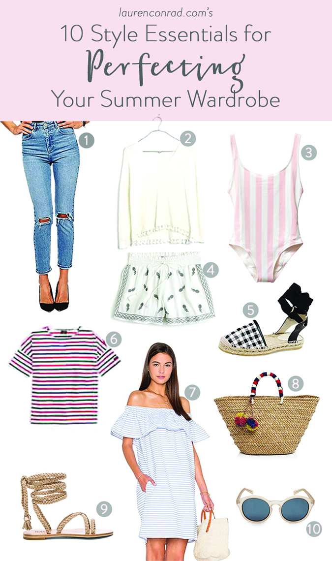 Don't miss our summer style guide on LaurenConrad.com