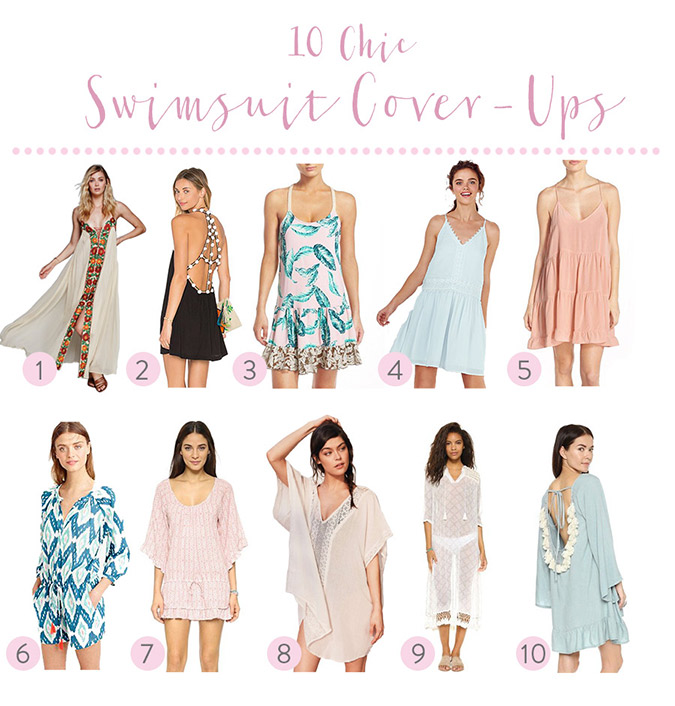 Chic swimsuit coverups for summer