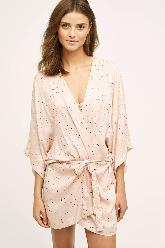 Anthropologie Dotty Robe
