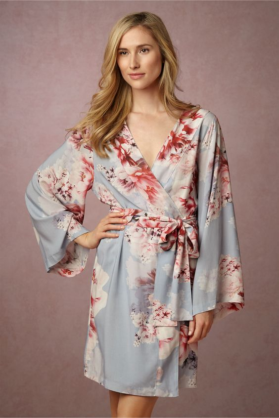 Plum Pretty Sugar for BHLDN robe