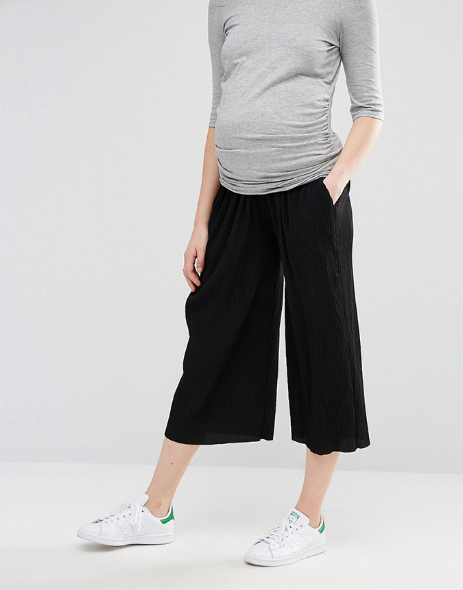 ASOS maternity culotte trousers
