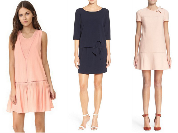 Shop these sweet drop-waist dresses