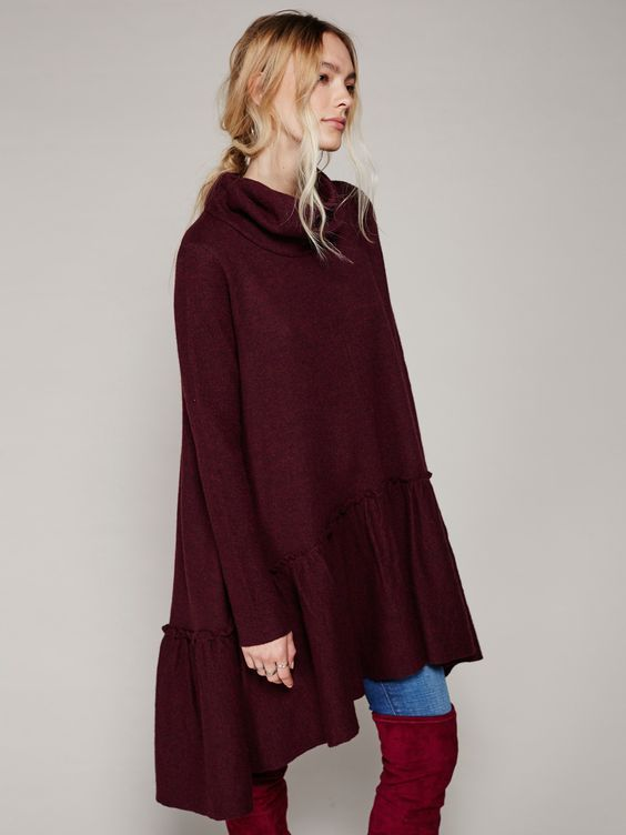 Free People Ruffle Up Tunic