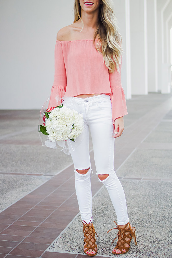 We can't get enough of this week's Chic's flowy blouse