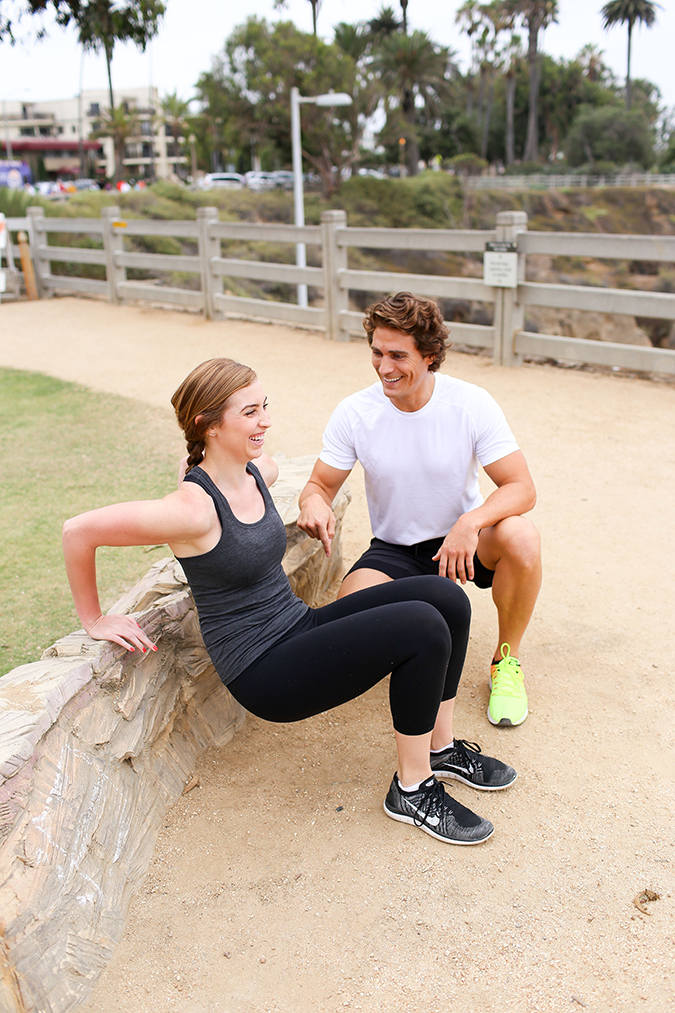 Park Bench Workout: Tricep Kick Outs