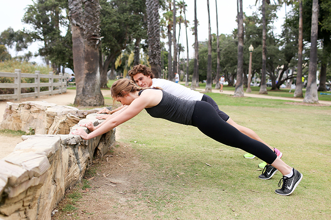 Try this perfect outdoor workout for your next sweat sesh
