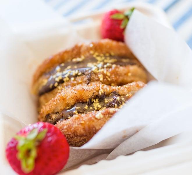 Recipe Box: Churro Double Decker Dessert Tacos
