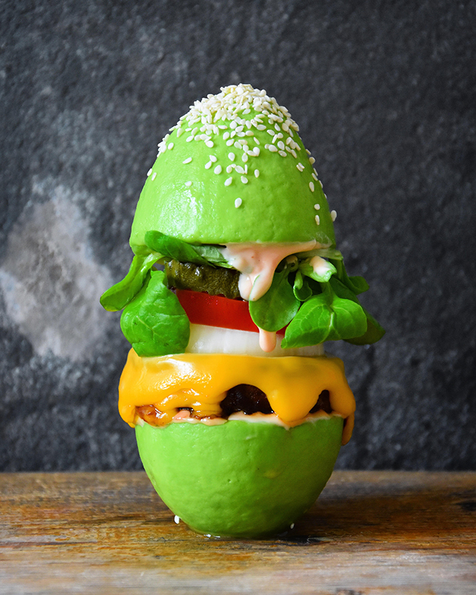 Unconventional avocado recipes via Food Deco