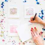DIY: Confetti Pocket Greeting Cards