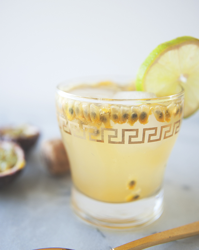 Passion Fruit Lime Spritzer