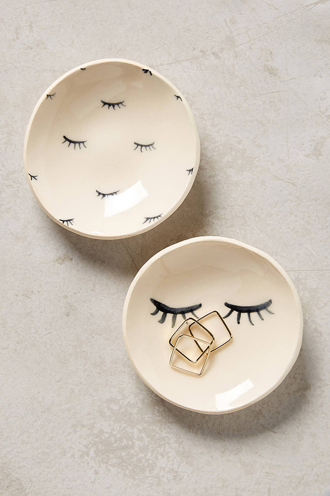 Eyelash trinket dish, Anthropologie