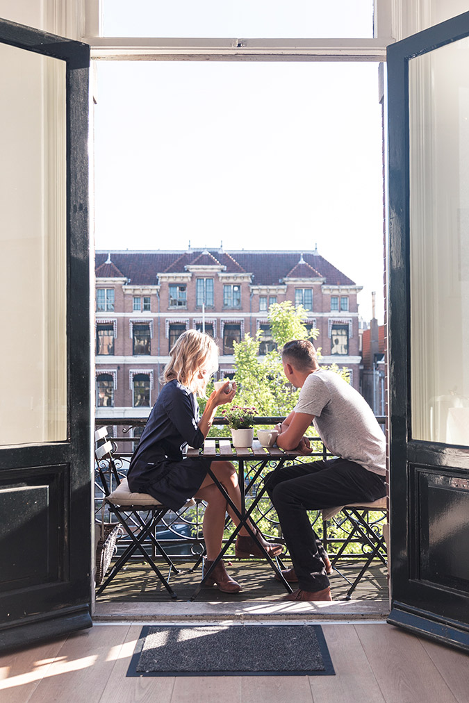 The cutest place to catch up in Amsterdam