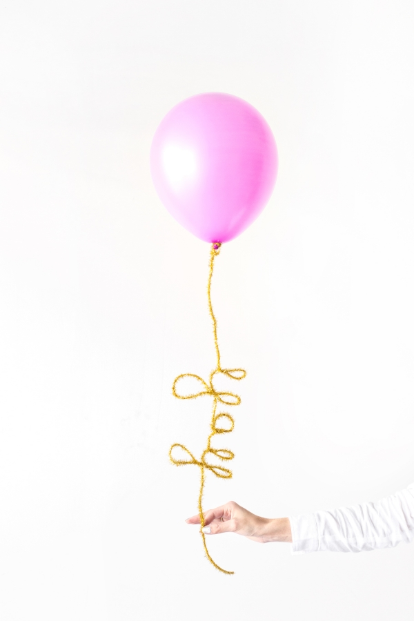 DIY Balloon Tails via StudioDIY
