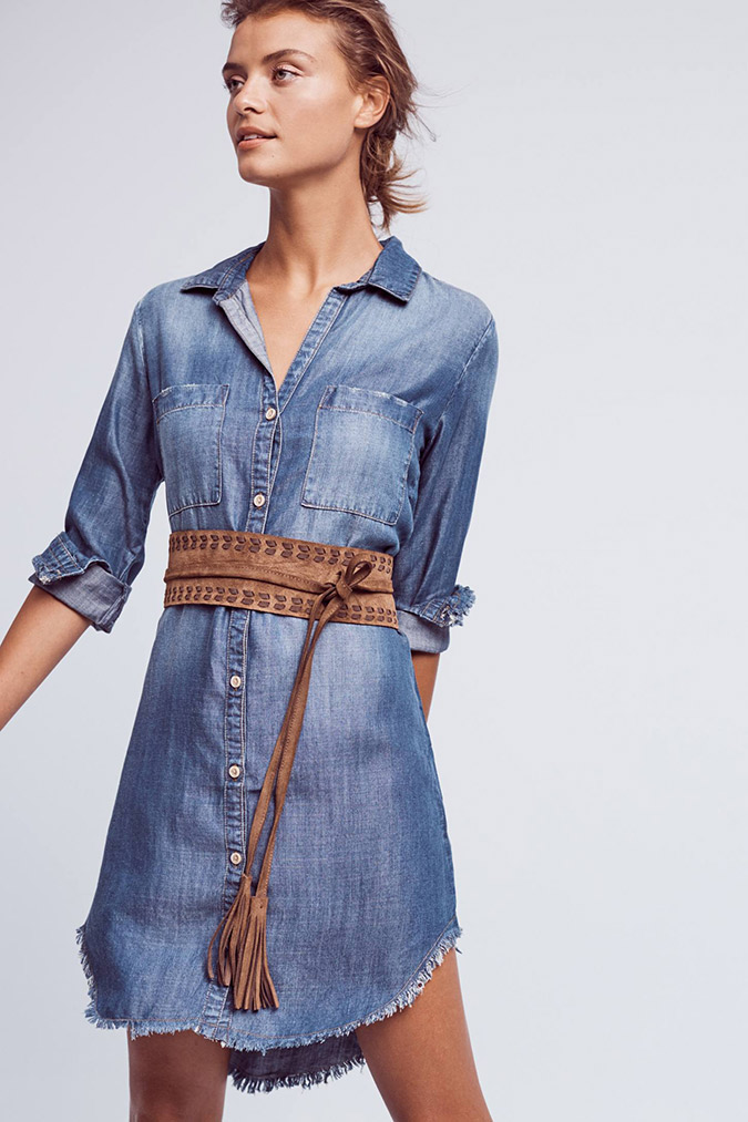 Fall Denim: denim dresses