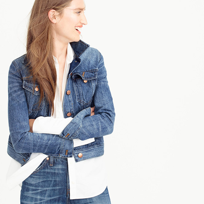 Fall Denim: vintage denim jackets