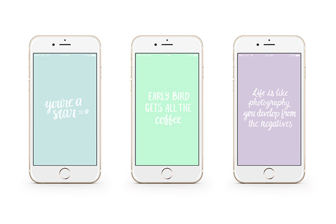 Get these tech wallpapers on LaurenConrad.com