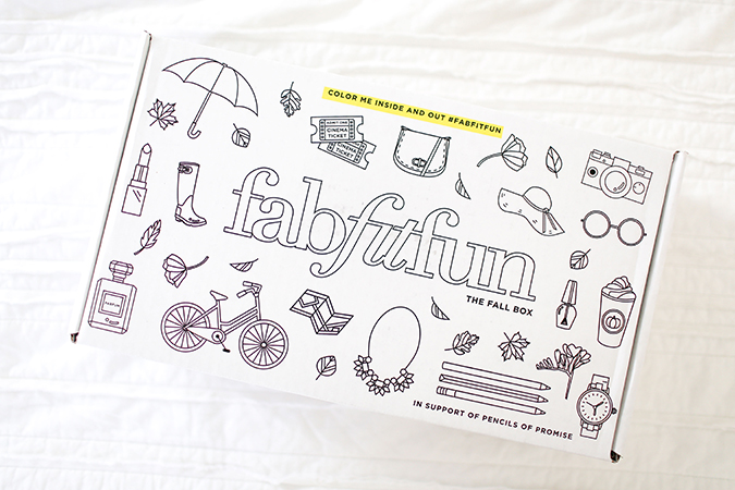 See what's in our FabFitFun box for fall...