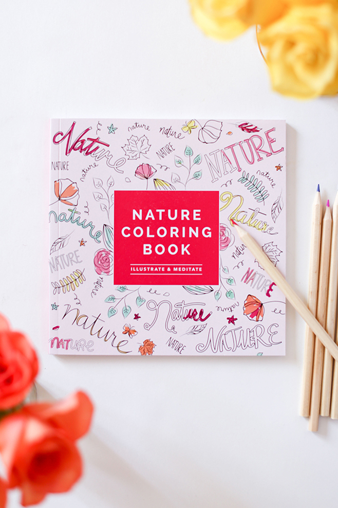 Nature Coloring Book, just one of the many adorable things in our FabFitFun box
