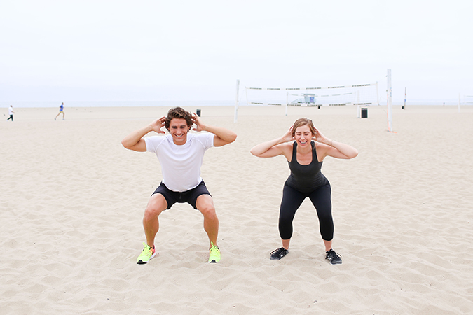 Adventure Run Workout: Squat Jumps