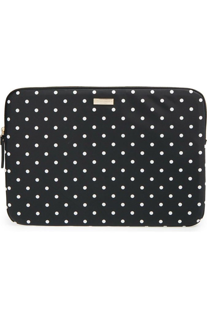 Kate Spade nylon laptop sleeve