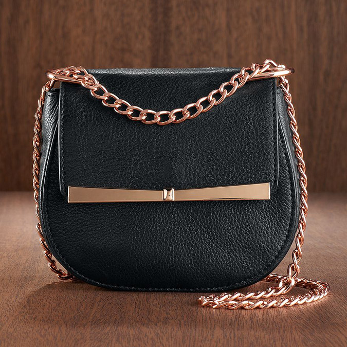 LC Runway leather crossbody bag