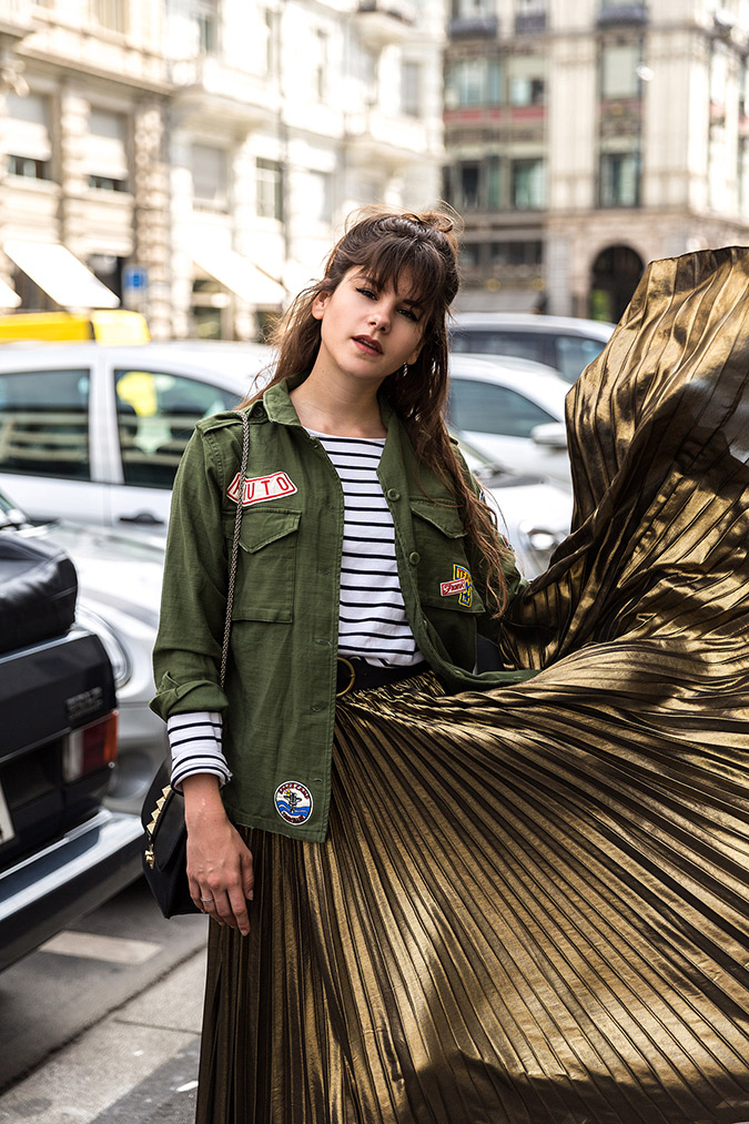 Heavy Metal accents via The Fashion Fraction