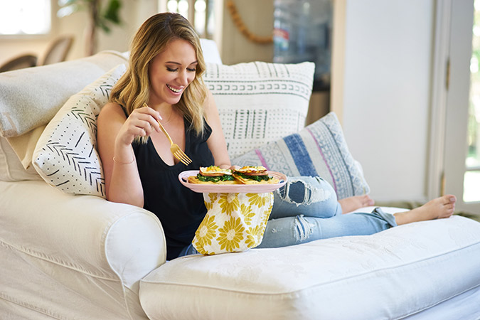 Haylie Duff and Anna James talk careers, food, and life